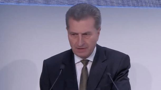 EU-Kommissar Oettinger will EU-Leistungsschutzrecht bis Ende 2017