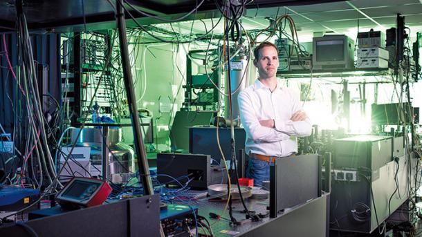 Wettrennen um sichere Quantennetze