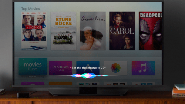 Apple TV mit tvOS 10
