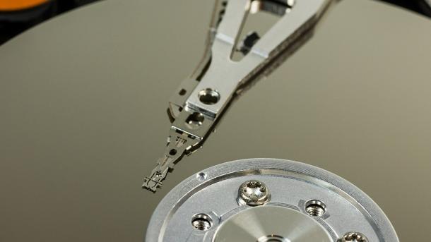 Magnetscheibe mit Schreib/Leseknopf