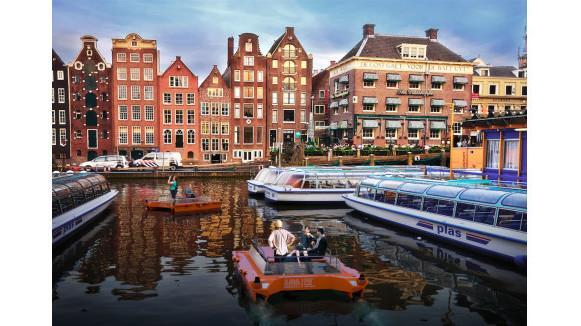 Roboat: Durch Amsterdam sollen bald autonome Boote fahren