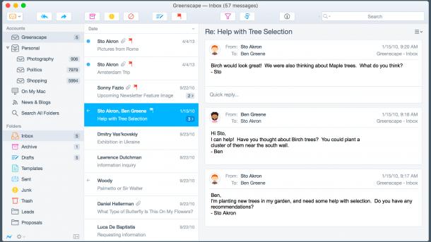 E-Mail-Clients: Postbox 5 erschienen