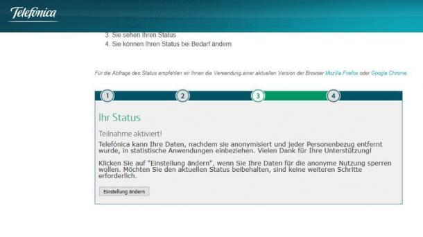 Vermarktung von Bewegungsdaten: Opt-out-Portal von Telefonica sorgt für Verunsicherung
