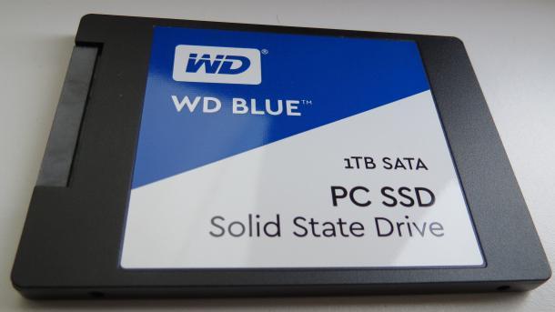 SSDs vom Festplattenhersteller WD