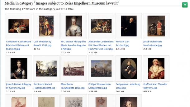 Bildrechte: Wikipedianer unterliegt vor Gericht gegen Museum