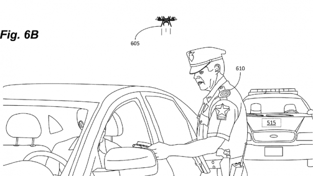 Amazon lässt sich kleine Drohnen-Assistenten patentieren