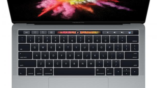 MacBook Pro mit Touch ID und Touch Bar