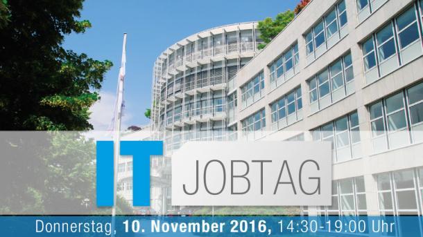 IT-Jobtag am 10. November bringt Bewerber und Arbeitgeber zusammen