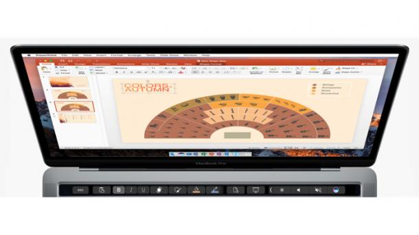Touch-Bar-Support für Mac-Office im Detail