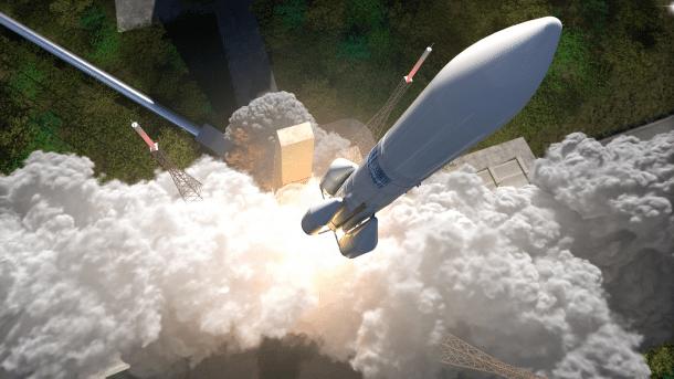 Europäische Ariane-Raketen sind Marktführer in der kommerziellen Raumfahrt