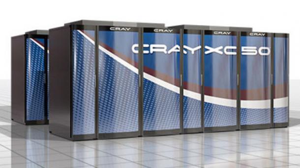 Cray XC50: Ein Petaflop-Schrank