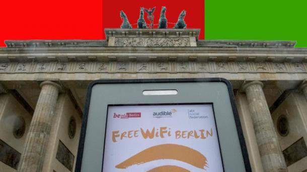 Rot-Rot-Grün in Berlin: Mehr Glasfaser, Linux, WLAN und E-Mobilität