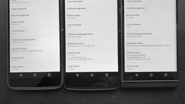 BlackBerry patzt erneut bei Android-Sicherheitsupdates