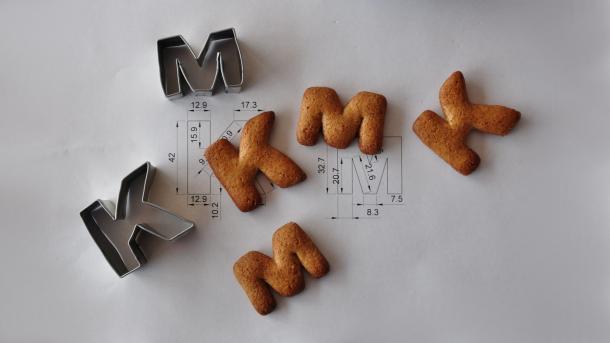 Keksform-Unikate aus Blechdosen