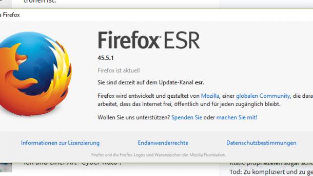 Sicherheitsupdates: Zero-Day-Lücke in Firefox und Tor-Browser geschlossen