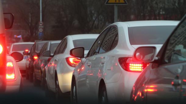 Auto, Verkehr, Stadt, Stau