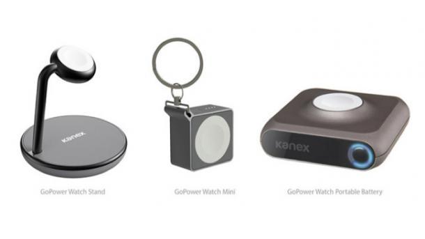 Apple-Watch-Batterien fürs Schlüsselbund und den Nachttisch