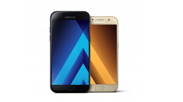 Samsung Galaxy A5 Und A3 Wasserdichte Smartphones Mit AMOLED Display