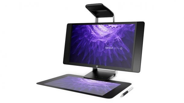 HP Sprout Pro G2: All-in-One-PC mit 3D-Scanner und Touch-Matte