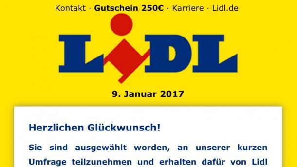 Gefälschter Lidl-Gutschein kursiert über WhatsApp