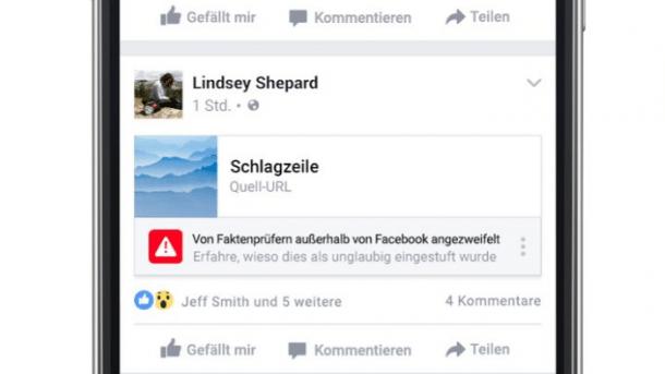 Facebook will gefälschte Nachrichten in Deutschland bekämpfen
