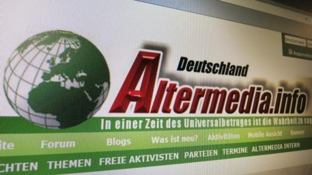 """Betreiber des verbotenen Neonazi-Portals """"Altermedia"""" angeklagt"""