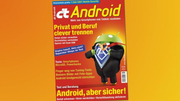 c't Android 2017 ab sofort im Handel