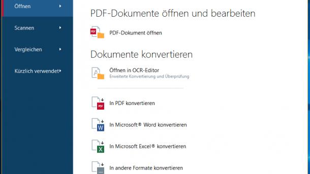 Abbyy FineReader 14: OCR plus PDF-Bearbeitung