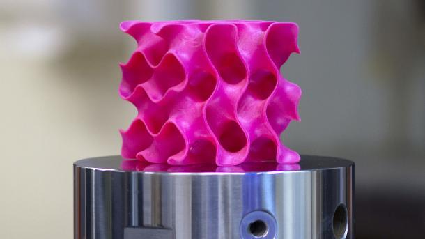 3D-Druck: Künstliche Haut und stabile Metamaterialien