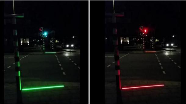 !!! LED-ichtlinien gegen smombie