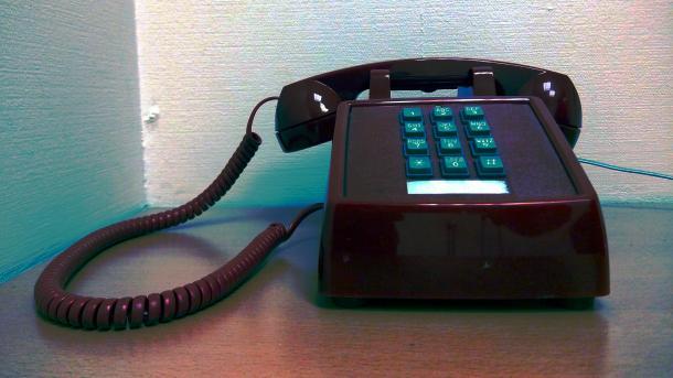 Festnetztelefon mit Tasten