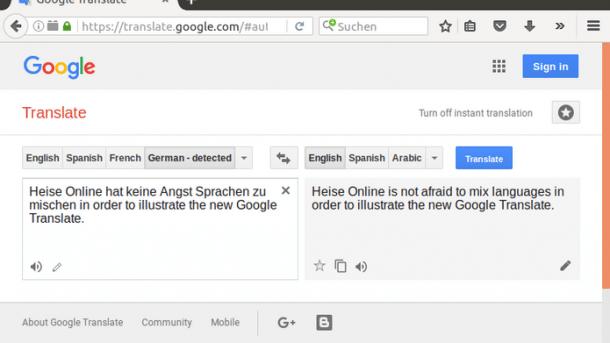 Menschliche Übersetzer schlagen künstliche Intelligenz
