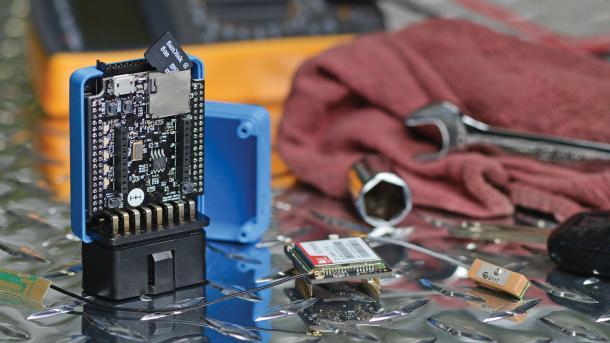 Car-Hacking Hardware Macchina M2 bei Kickstarter