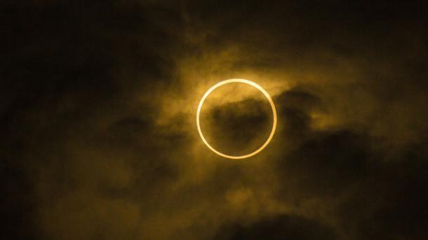Ringförmige Sonnenfinsternis auf der Südhalbkugel und live im Internet