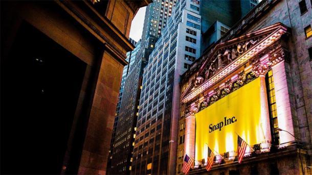 Börsengang: Snapchat-Mutter mit fulminantem Debüt an der Wall Street