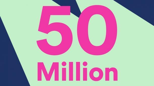 Spotify zählt 50 Millionen Abo-Kunden
