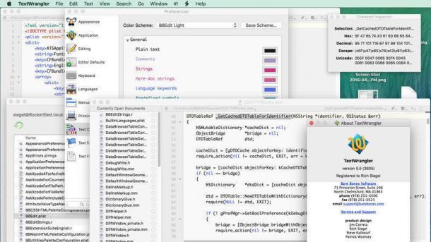 Mac-Texteditor-Klassiker TextWrangler wird eingestellt