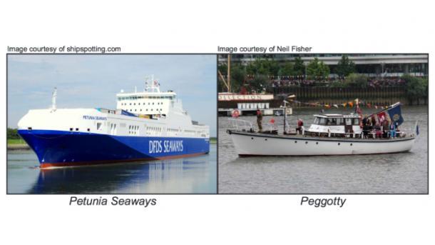 Auf iPad verlassen: Boot stößt mit Fähre zusammen