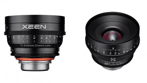 Xeen T1.9/20 mm Cinema-Objektiv ab April erhältlich