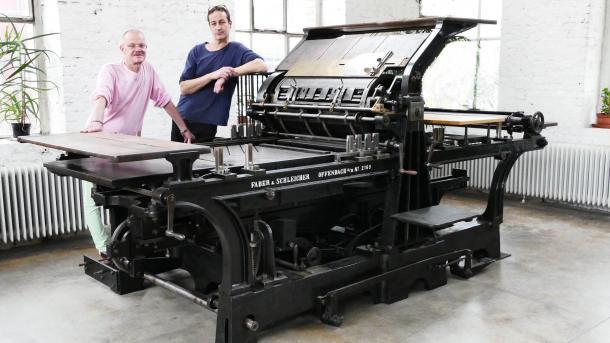 Crowdfunding-Projekt will Lichtdruck-Verfahren erhalten