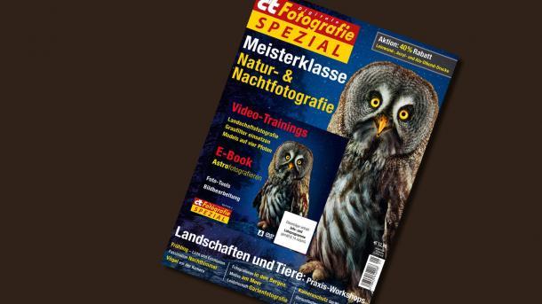 Sonderheft c't Fotografie Meisterklasse: Natur- und Nachtfotografie
