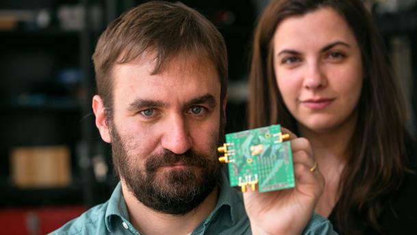 Neue Chipentwicklung: Senden und Empfangen gleichzeitig