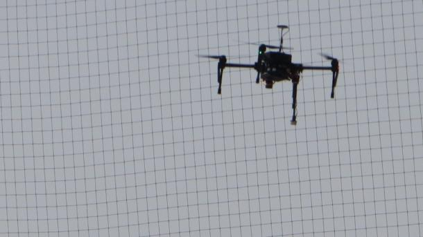 Robotik-Wettbewerb MBZIRC: Drohnen im Wüstenwind