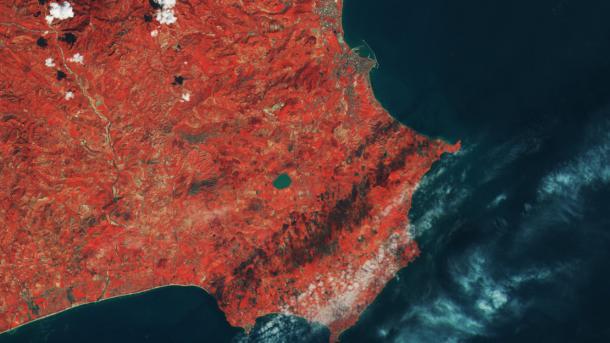Esa-Satellite Sentinel-2B sendet erste Bilder zur Erde