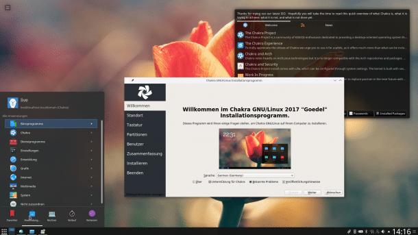 Chakra Linux 2017.03