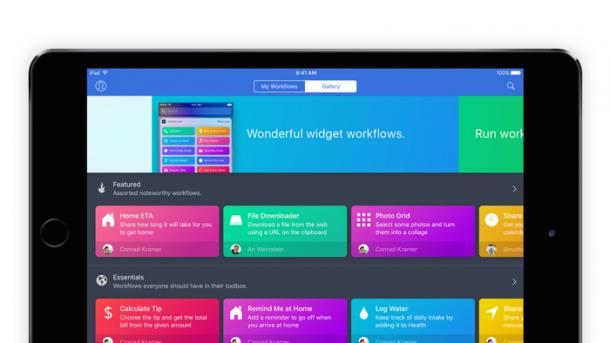 Apple übernimmt iOS-Automatisierungswerkzeug Workflow