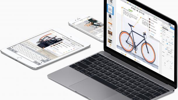 iWork-Apps für iPhone, iPad und Mac