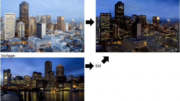 Style-Transfer mit neuronalen Netzen geht jetzt auch photorealistisch