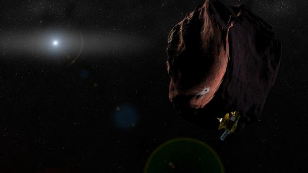 NASA-Sonde New Horizons: Halbzeit auf dem Weg vom Pluto zum nächsten Ziel