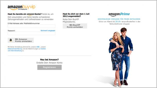 Shopping-Clubs: Amazon macht BuyVIP dicht